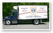 Leominster Ice and Oil ice truck